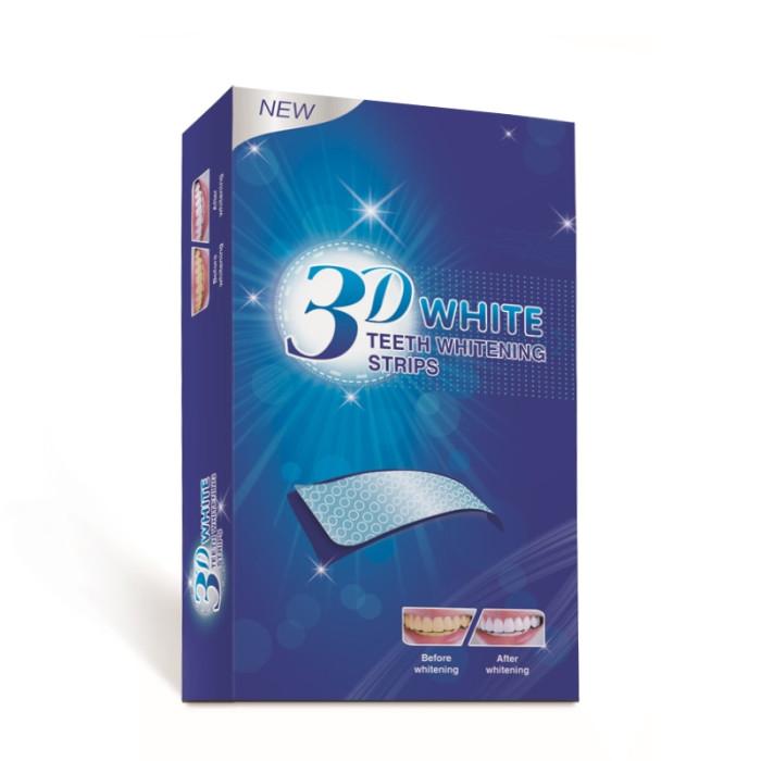 3D White teeth whitening strips Відбілюючі смужки для зубів, 28 шт