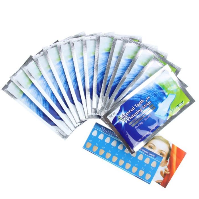 Advanced teeth whitening strips Відбілюючі смужки для зубів, 28 шт