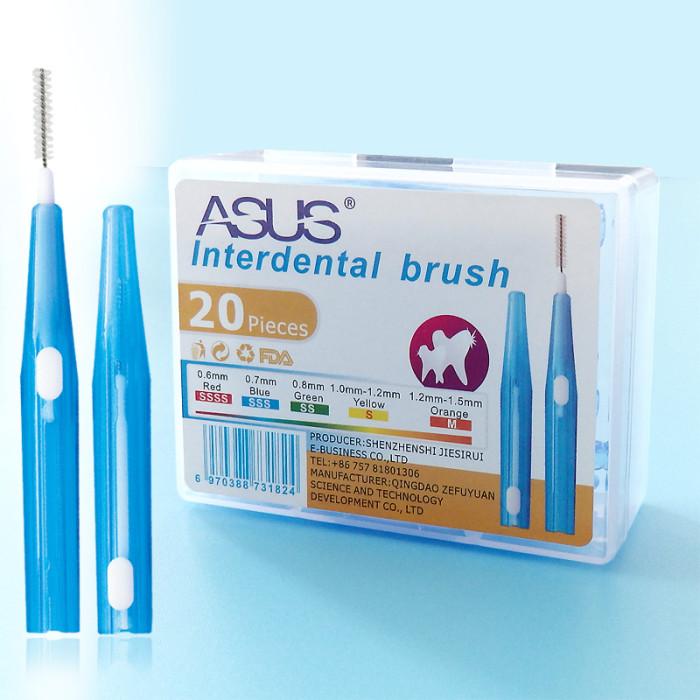 ASUS міжзубні йоршики 0,6 мм, 20 шт