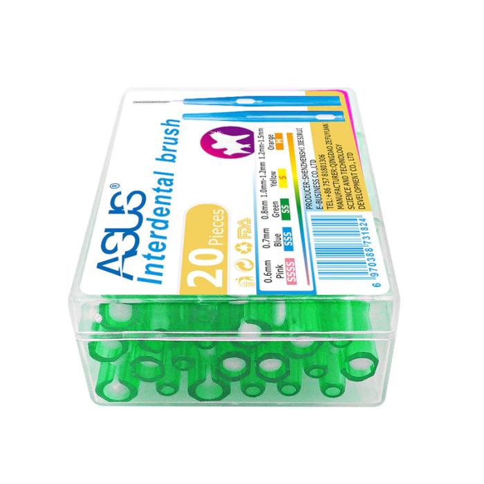 ASUS міжзубні йоршики 0,8 мм, 20 шт