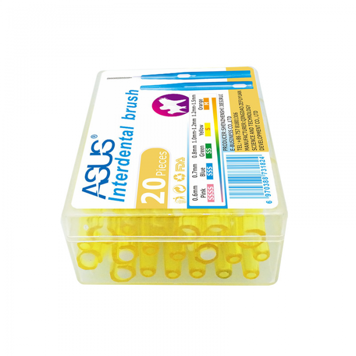 ASUS міжзубні йоршики 1,0-1,2 мм, 20 шт