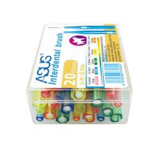 ASUS міжзубні йоршики Mix 0,6-1,5 мм, 20 шт