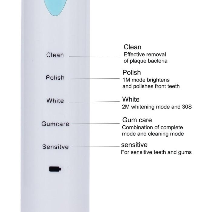 Azdent AZ-3 Pro Звукова електрична зубна щітка, чорна