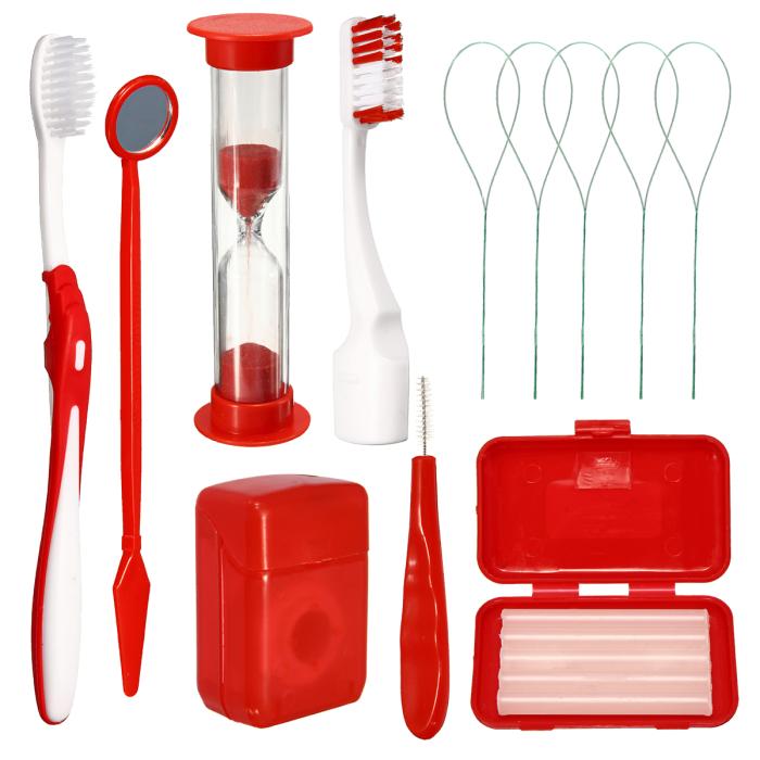 Azdent Orthodontic Kit ортодонтичний набір, червоний