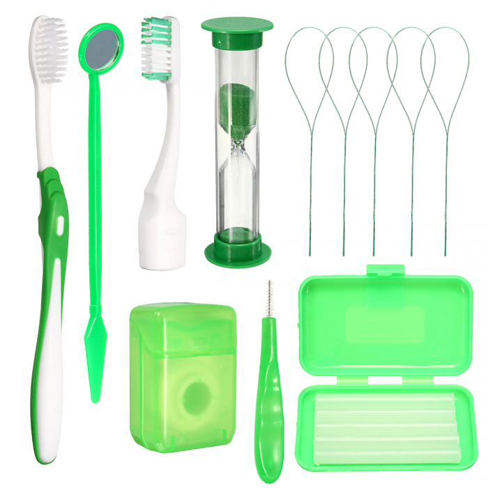 Azdent Orthodontic Kit ортодонтичний набір, зелений