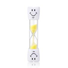 Azdent пісочний годинник - таймер для чищення зубів, 3 хв, жовтий