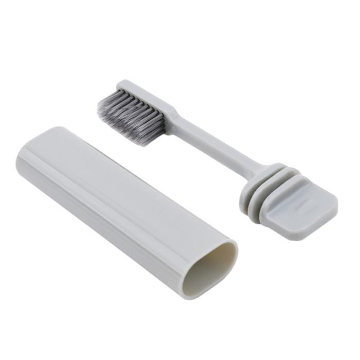 Azdent зубна щітка для подорожей сіра