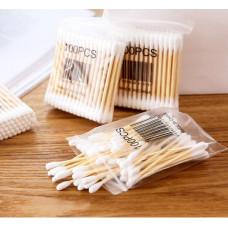 Бамбуковые ватные палочки для ушей 100шт