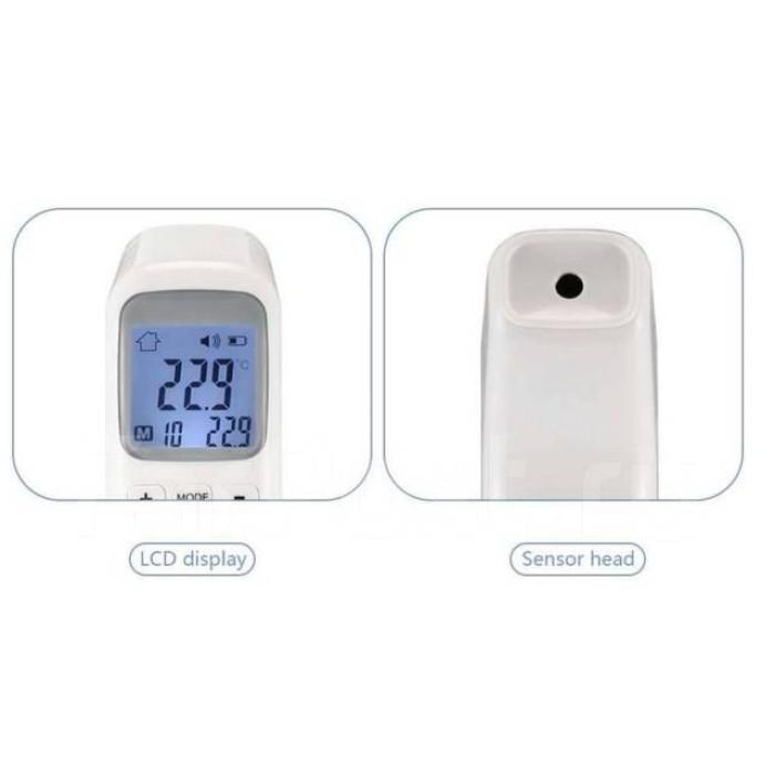 Безконтактний інфрачервоний термометр CK-T1502 градусник для тіла і поверхні