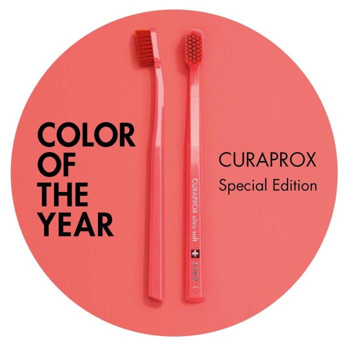 Curaprox Living Coral Edition Ultra Soft 5460 зубні щітки 2 шт