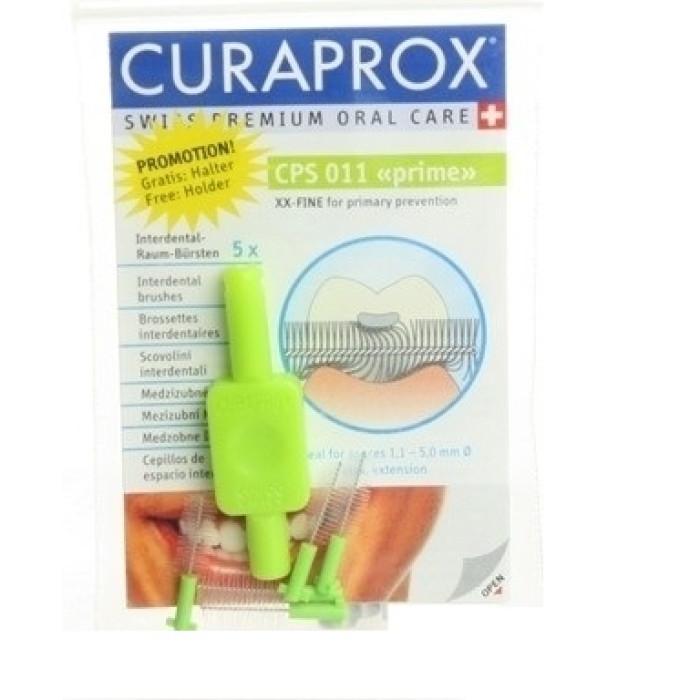 Curaprox Prime Refill CPS 011 Набір міжзубних йоршиків (5 шт.) + тримач