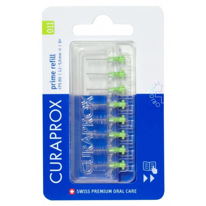 Curaprox Prime Refill CPS 011 Набір міжзубних йоршиків (8 шт)