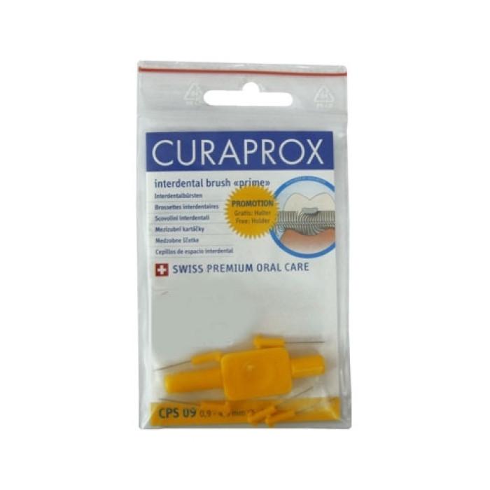 Curaprox Prime Refill CPS 09 Набір міжзубних йоршиків (5 шт.) + тримач