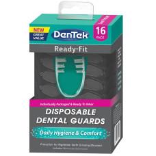 DenTek Расходные зубные каппы от ночного скрежета зубами (бруксизма) 16 шт