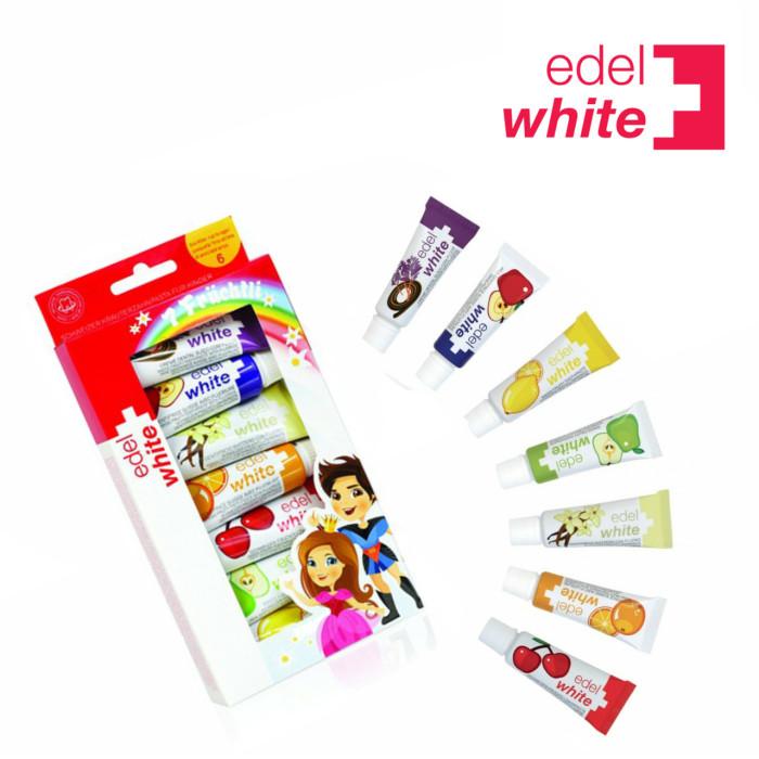 Edel White Дитяча зубна паста 7 фруктів