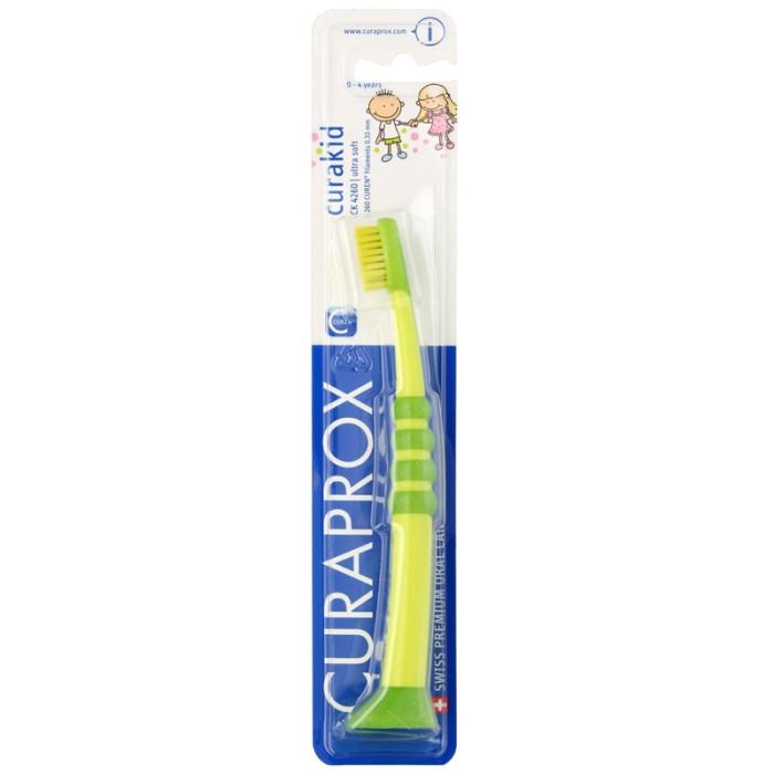 Дитяча зубна щітка Curaprox Curakid 4260 від 0 до 4 років