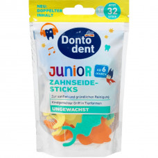 Dontodent Junior Дитячі флос-зубочистки, 32 шт.
