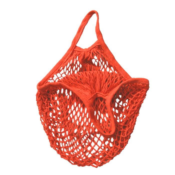 Еко сумка авоська з сітки, помарачева