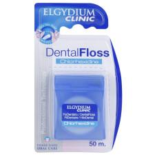Elgydium Clinic Chlorhexidine Зубная нить 50 м