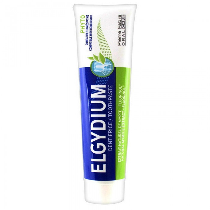 Elgydium Phyto Гемеопатична зубна паста, 75 мл