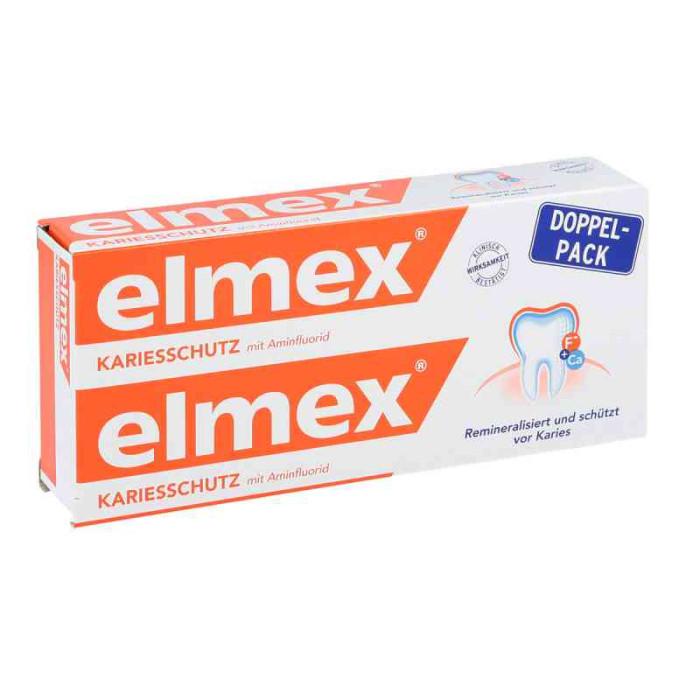 Elmex Kariesschutz Зубна паста проти карієсу, 2x75ml