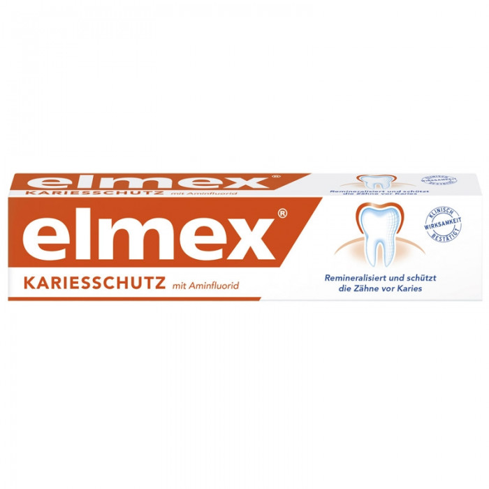 Elmex Kariesschutz Зубна паста проти карієсу, 75 мл