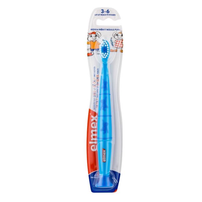 Elmex Kinder Дитяча зубна щітка (3-6 років), блакитна