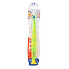 Elmex Kinder Детская зубная щетка (3-6 лет), салатовая