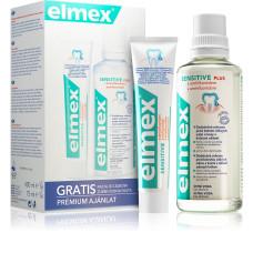 Elmex Sensitive набір для чутливих зубів ополіскувач 400 мл + зубна паста 75 мл
