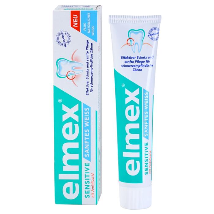 Elmex Sensitive Whitening Зубна паста для чутливих зубів з відбілюючим ефектом, 75 мл