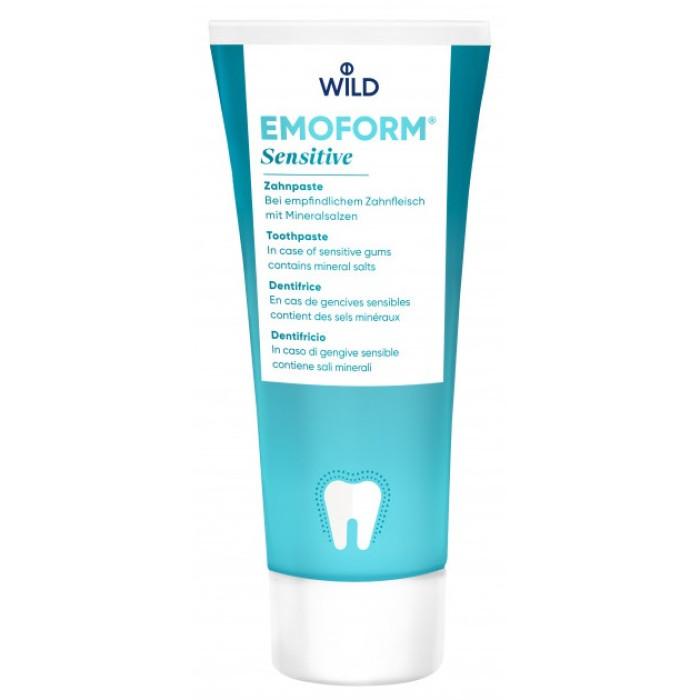 EMOFORM-F Спеціальна зубна паста для чутливих зубів, 75 мл