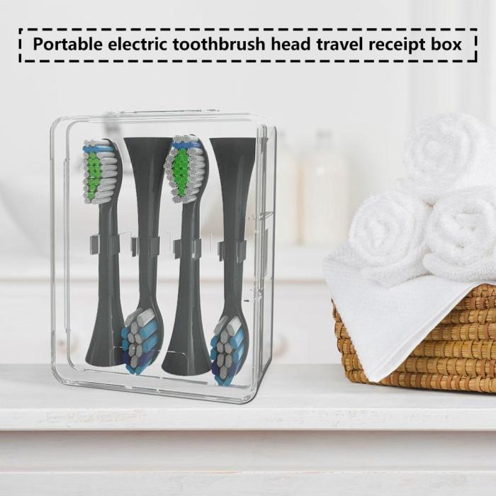 Футляр для зберігання змінних насадок для електричної зубної щітки