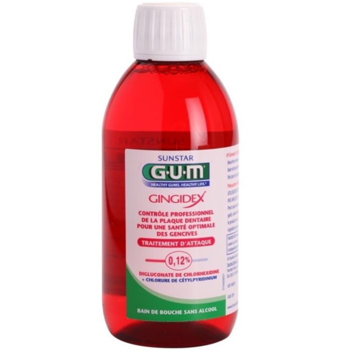 G.U.M Gingidex 0,12% ополіскувач для порожнини рота, 300 мл