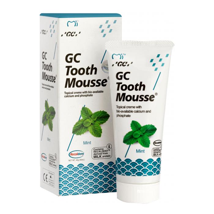 GC Tooth Mousse Мята Гель для відновлення емалі