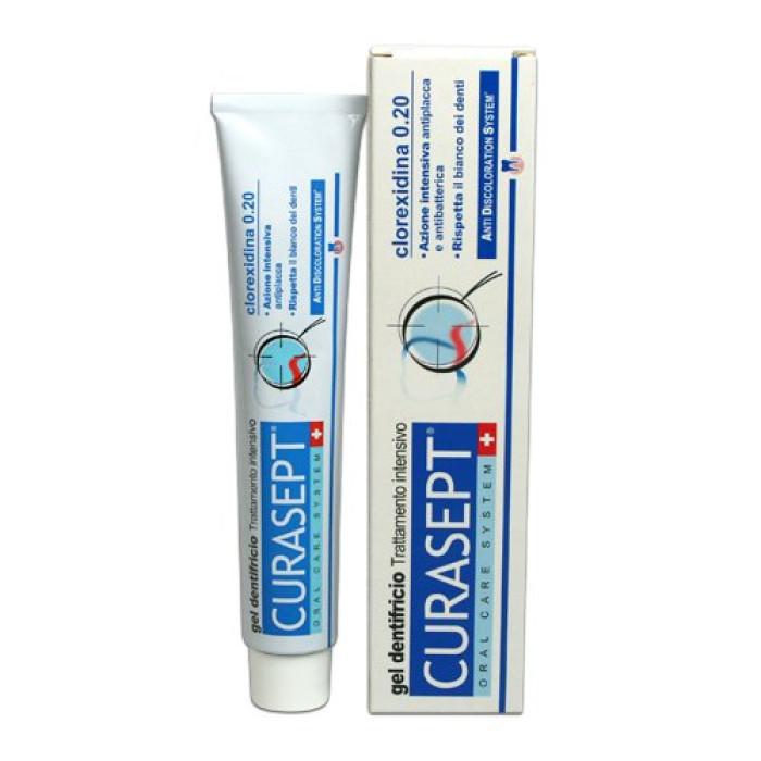 Гелеподібна зубна паста Curasept 0,20% хлоргексидину (75 мл) ADS 720