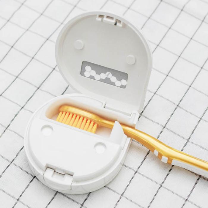 Gustala SY04-01 Електричний дезінфікатор для зубної щітки, білий