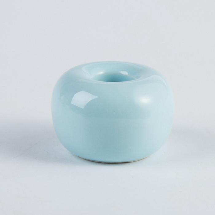 Керамічна підставка для зубних щіток блакитна