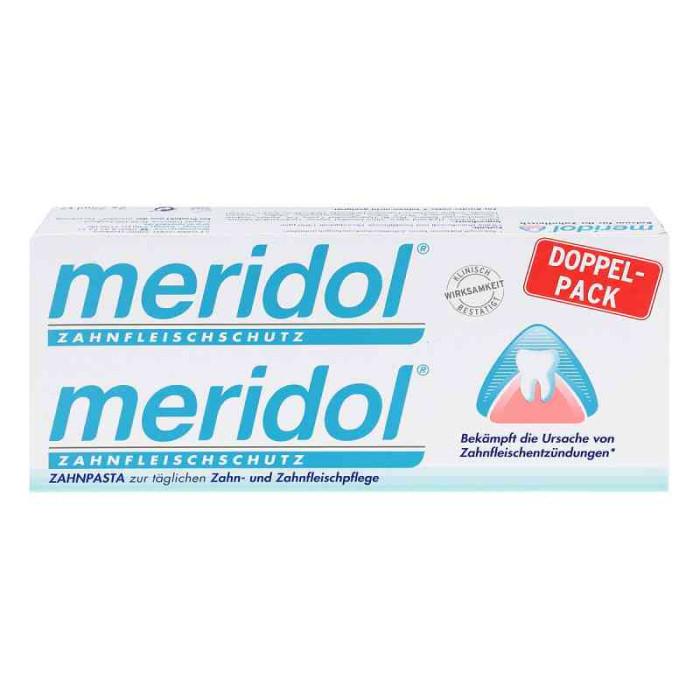 Meridol zahnfleischschutz Зубна паста 2x75 мл