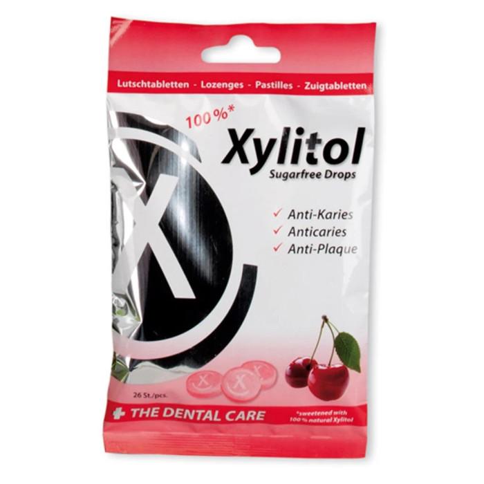 Miradent Xylitol Drops льодяники з ксилитом, смак вишні, 26 шт