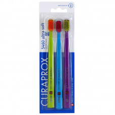 Набір зубних щіток Curaprox Ultrasoft CS 5460 3 шт