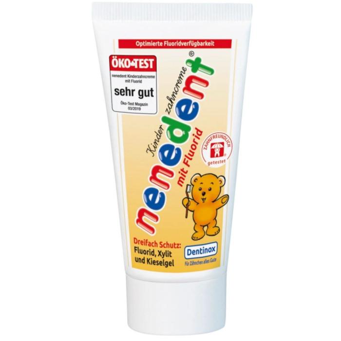 nenedent mit Fluorid дитяча зубна паста з фтором, від 2 до 6 років, 50 мл