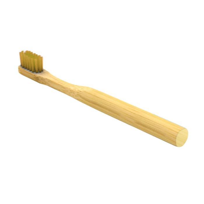 Newday kids дитяча бамбукова мяка зубна щітка, Хакі