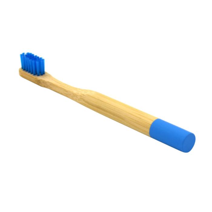 Newday kids дитяча бамбукова мяка зубна щітка, Синя