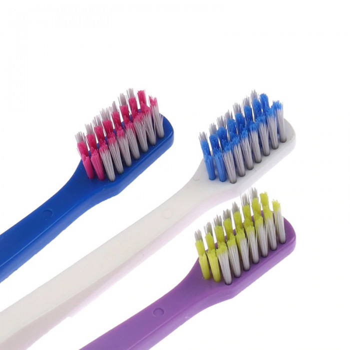 Nona Ultra Soft Ortho зубна щітка для брекетів, фіолетова