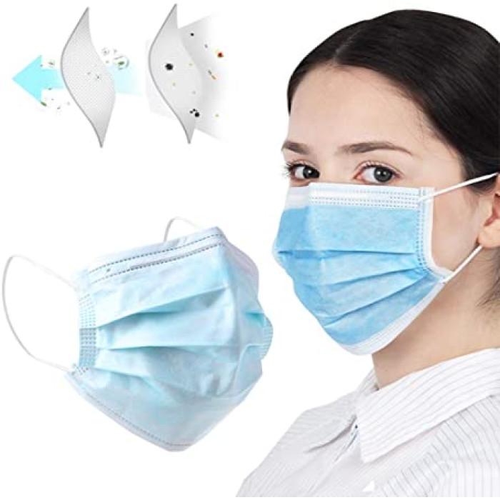 Одноразова захисна маска для обличчя, 1 шт