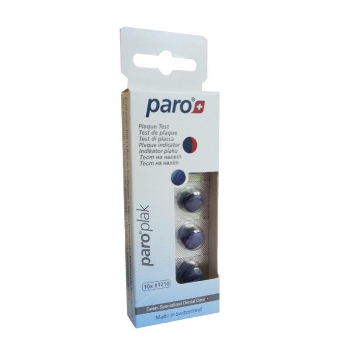 paro PLAK 2-кольорові таблетки для індикації зубного нальоту, 10 шт