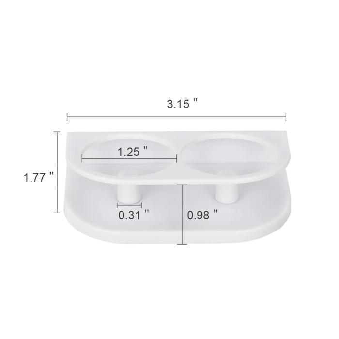 Підставка для двох електричних зубних щіток oral-b