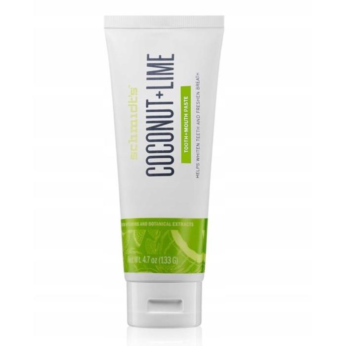 Schmidts Coconut Lime Натуральна зубна паста
