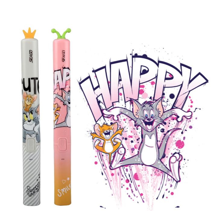 Seago EK9 Дитяча ультразвукова зубна щітка, рожева