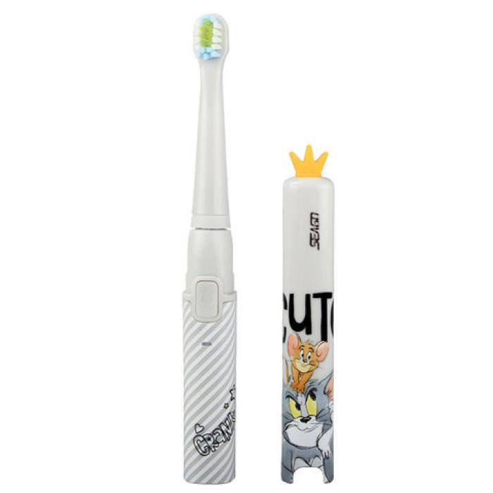 Seago EK9 Дитяча ультразвукова зубна щітка, сіра
